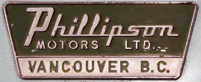 dealer phillipson motors vancouver logo