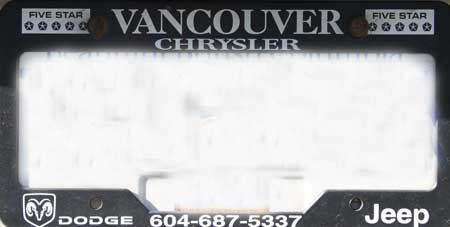 dealer vancouver chrysler dodge jeep license