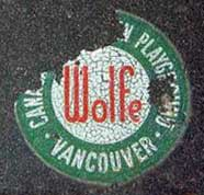 dealer wolfe vancouver windshield sticker